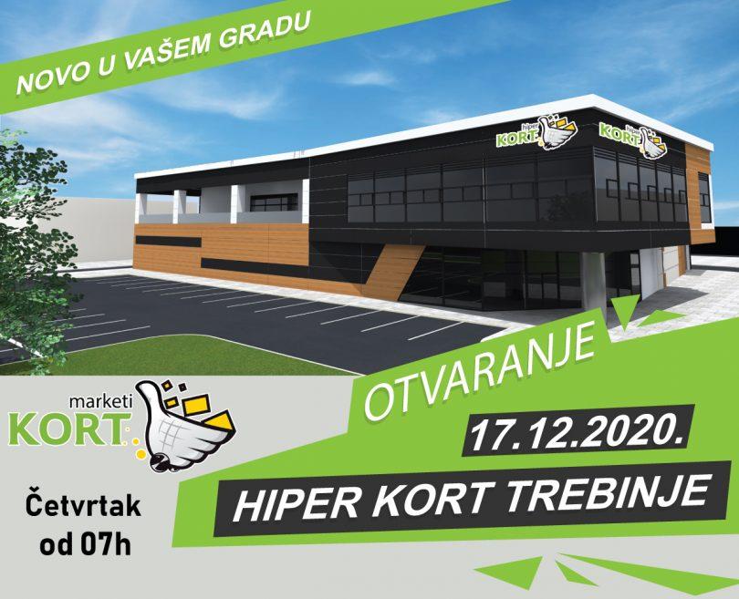 Kort Market Trebinje Lazo Brkovic